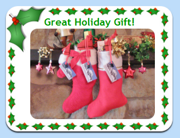 Image of Ski & Snowboard boot horn in Holiday Stockings.